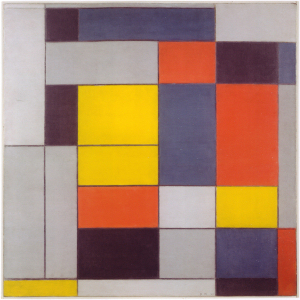 Mondrian B104 Composition NoII, 1920