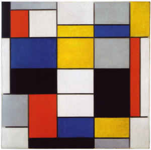 Mondrian B105 Composition A, 1920