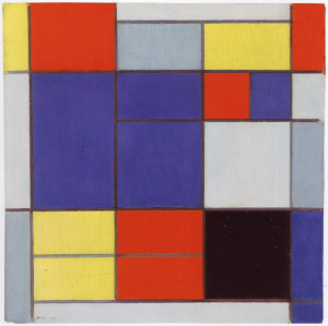 Mondrian B107 Composition C, 1920