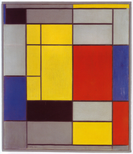 Mondrian B108 Composition I, 1920