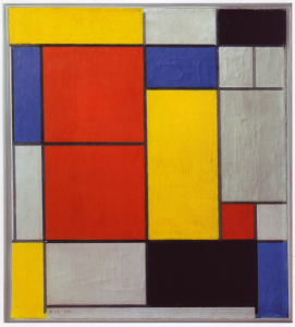 Mondrian B109 Composition II, 1920