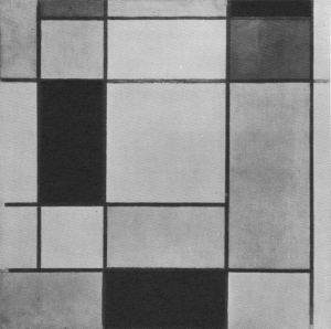 Mondrian B110 Komposition No.XIII, 1920
