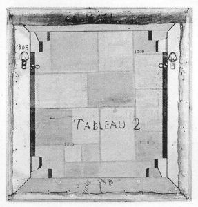 Mondrian B112 Unfinished Composition, 1920(?)