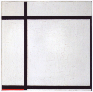 Mondrian B170 Komposition II with Red, 1926