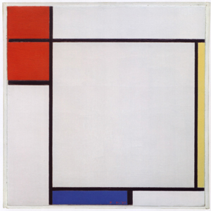 Mondrian B188 Composition with Red, Yellow and Blue, 1927