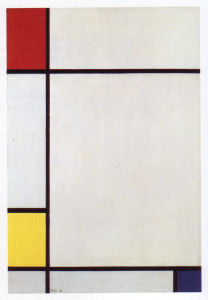 Mondrian B190 Composition No.III with Red, Yellow and Blue, 1927