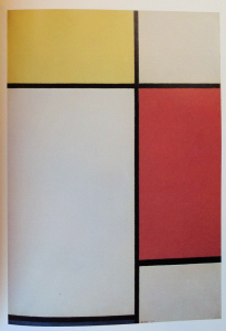 Mondrian B196 Composition No.II with Yellow, Red and Blue, 1927