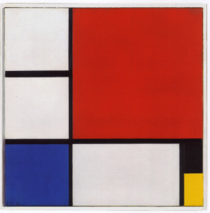 Mondrian B212 Composition No.II with Red, Blue, Black and Yellow, 1929
