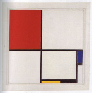 Mondrian B213 Composition No.III with Red, Blue, Yellow and Black, 1929