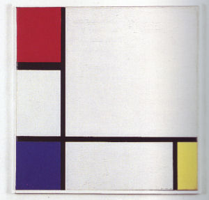 Mondrian B216 Composition No.IV with Red, Blue and Yellow, 1929