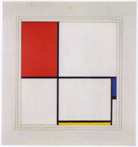 Mondrian B233 Composition D with Red, Blue and Yellow, 1932