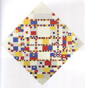 Mondrian B324 Victory Boogie Woogie (unfinished), 1944
