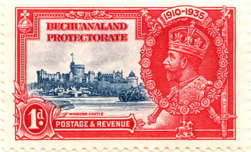 Bechuanaland Protectorate 1935 SG111 Sc117