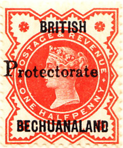 Bechuanaland Protectorate 1888 SG40 Sc51