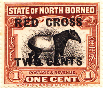 North Borneo 1916 SG202 Sc-B1