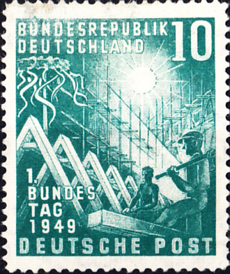 West Germany SG1033 Sc665