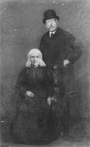 Mondrian A114 Egbert Kuipers and Wife, c.1900-01