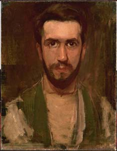 Mondrian A137 Self-Portrait, c.1900