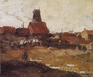 Mondrian A186 Wingless Paltrok Mill in the Schinkelbuurt, c.1899-1900