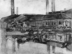 Mondrian A191 The Royal Wax Candle Factory, c.1900-01