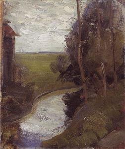 Mondrian A236 Fragment of an Irrigation Ditch, c.1901-02