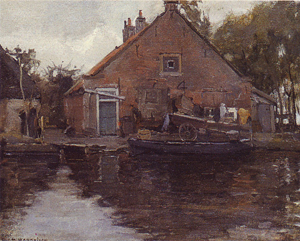 Mondrian A245 House on the Gein, 1741, 1900