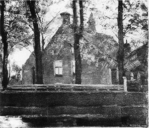 Mondrian A248 Façade of Maria's Hoeve Farm Building on the Gein, c.1900-02