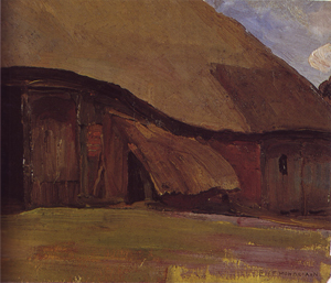 Mondrian A362 Truncated Farm Building in Brabant, 1904
