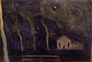 Mondrian A648 Night Landscape I, c.1908