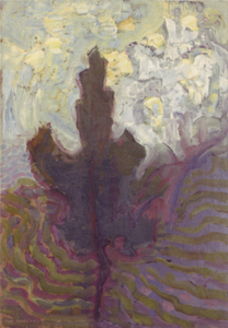 Mondrian A661 Single Tree Silhouette, c.1908