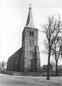Church at Domburg photograph 1956