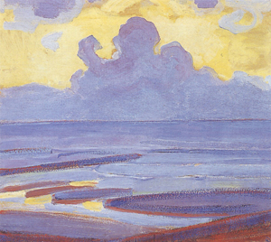 Mondrian A696 By the Sea, 1909