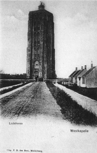 Lighthouse at Westkapelle photograph