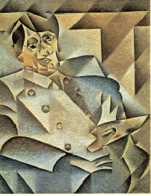 Juan Gris Portrait of Picasso, 1912