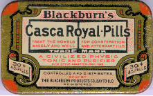 Blackburn's Casca Royal Pills